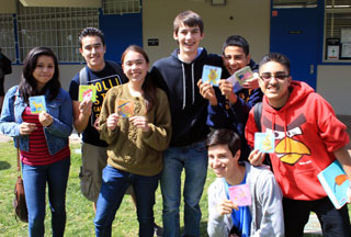 students with MADcards